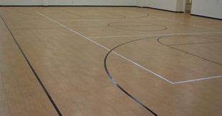 Rubber Basketball Court Flooring – Gurus Floor