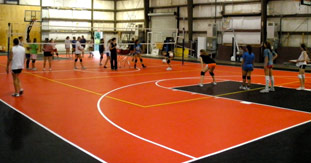 Indoor Volleyball Courts | Volleyball Equipment / Nets / Court ...