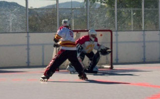 Inline Roller Hockey / Roller Blading - Inline Skating ...