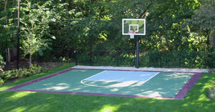 For A FREE Outdoor Courts Quote Outdoor Basketball Courts