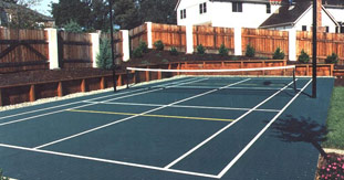 Outdoor Volleyball Courts | Backyard / Indoor Volleyball Courts ...
