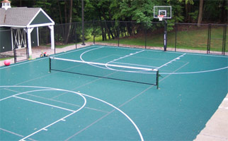 SWG Basketball Courts