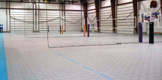 Indoor Volleyball Courts / Sports Flooring | Multi Purpose Court ...