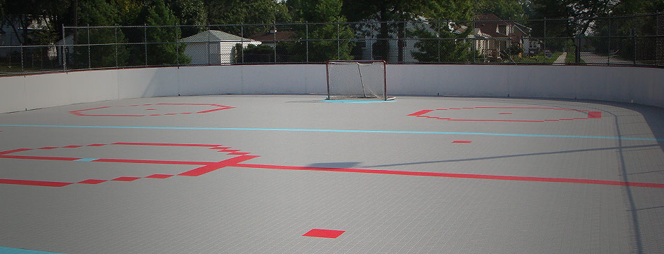 Basketball Courts Tennis Courts Basketball Hoops Indoor - Backyard roller hockey rink